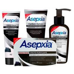 ASEPXIA - Pack 1 Limpieza Carbón