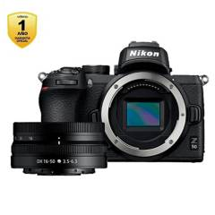 Nikon - Cámara Mirrorless Z50  Lente 16-50Mm F 3.5 - 6.3