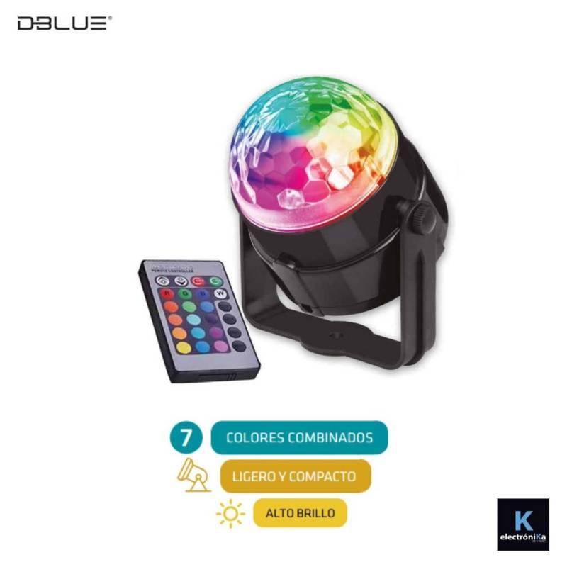 DBLUE - Bola de Luces Led multicolor para Fiesta