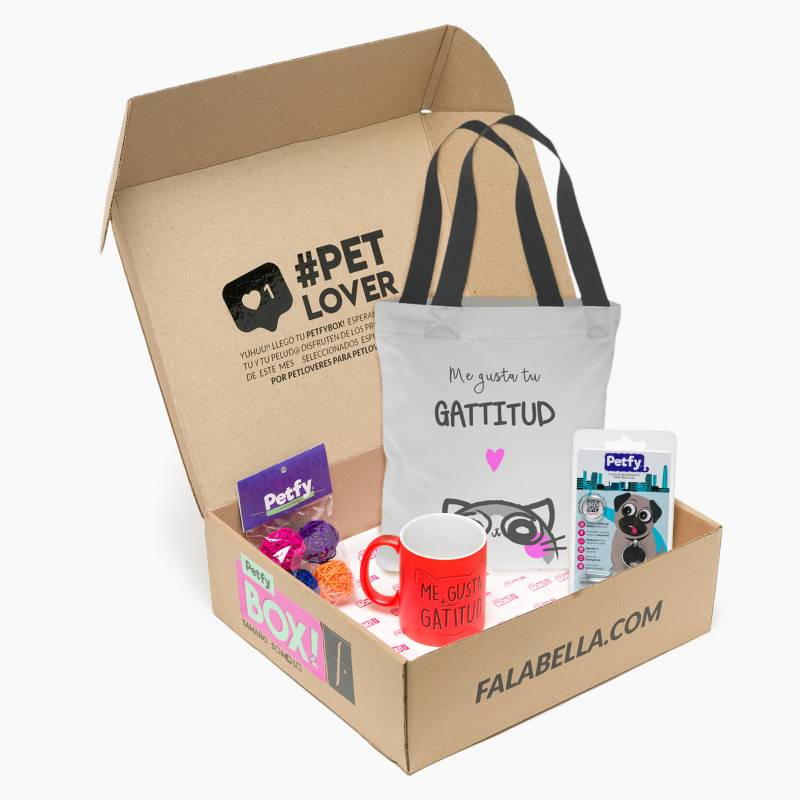 PETFY - Caja  Lover Gato