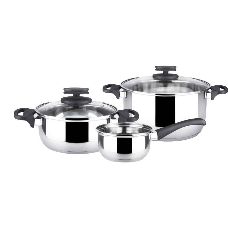 MAGEFESA - Baterías de cocina acero inoxidable Style 5 Pzas