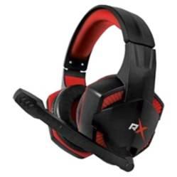 REPTILEX - Audífonos Gamer Pro Consolas y Ps4 Rojo