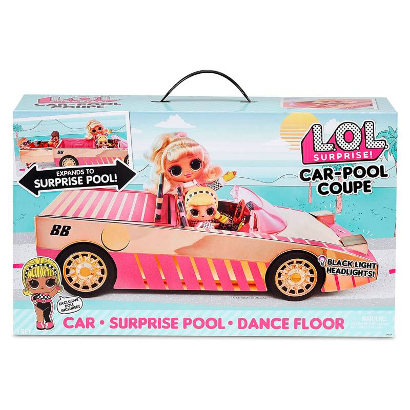 LOL SURPRISE - Sorpresa más Auto con Piscina