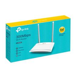 TP-LINK - Router N 300 WI-FI WR820N