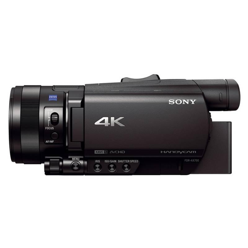 Sony - Cámara Video 4K Handycam Fdr-Ax700