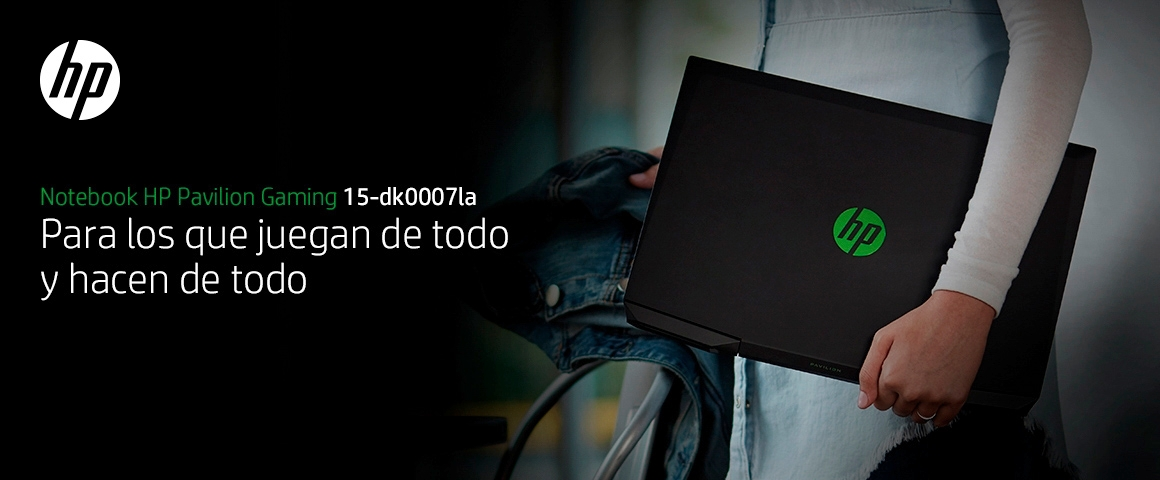 HP Pavilion Gaming Laptop 15-dk0007la