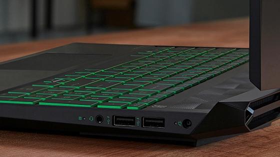 HP Pavilion Gaming Laptop 15-dk0007la teclado