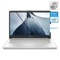 "Hp - Notebook 14-DQ1001LA Intel Core i3 4GB RAM + 16GB Intel Optane 256GB SSD 14"""