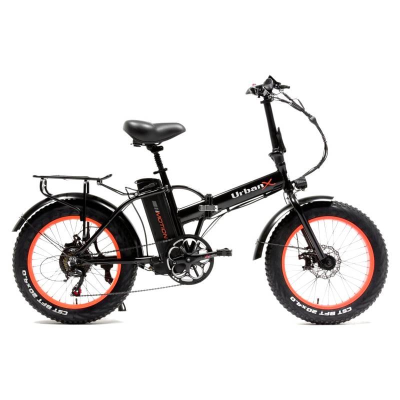 IMOTION - Bicicleta Eléctrica Imotion Urban Foldable Naranjo Aro 20