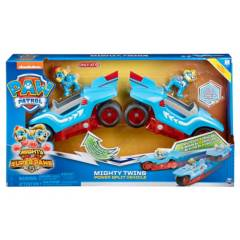 Paw Patrol - Mighty Twins 2 In 1 Vehicle Target