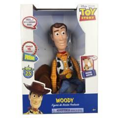 TOY STORY - Figura De Juguete Woody Con Sonido 33 Cms