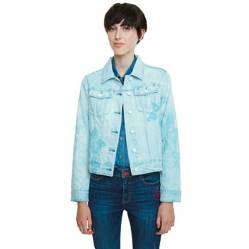 Desigual - Chaqueta Jeans Mujer