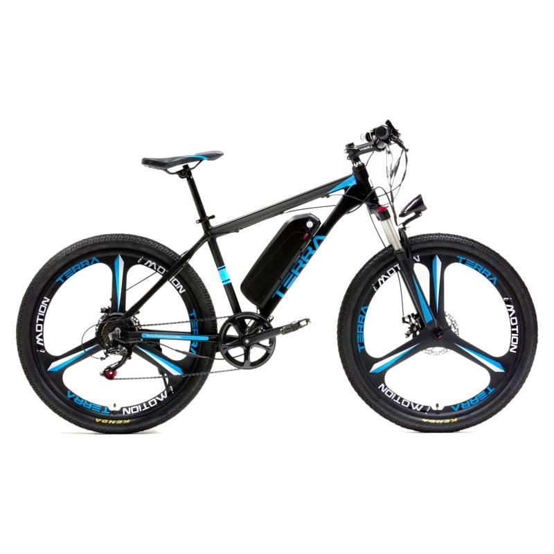 IMOTION - Bicicleta Electrica Imotion Terra Azul 48V 500 W.