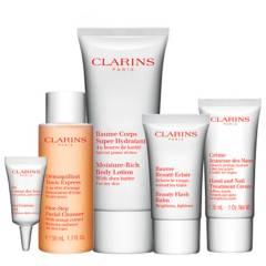 Clarins - Pack Hidratación Rostro y Cuerpo
