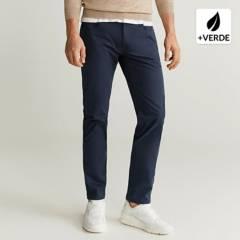 MANGO MAN - Pantalon 5 Bolsillos Slim Fit Estilo Denim