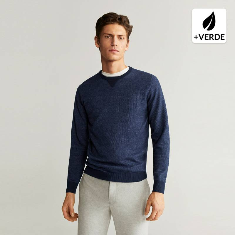MANGO MAN - Sweater Algodón