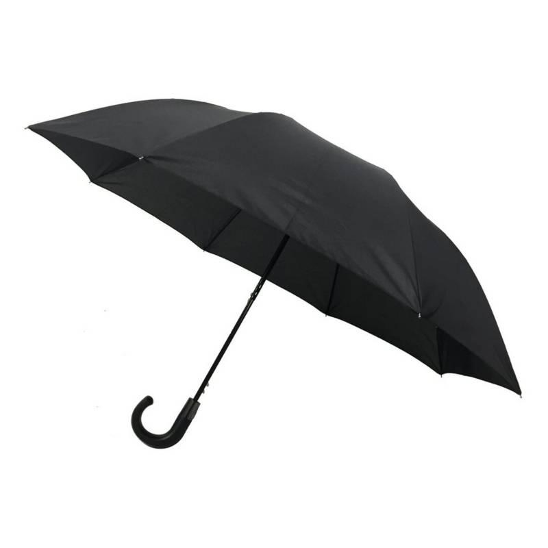 PLUVIA - Paraguas Pluvia Basic Topless Negro