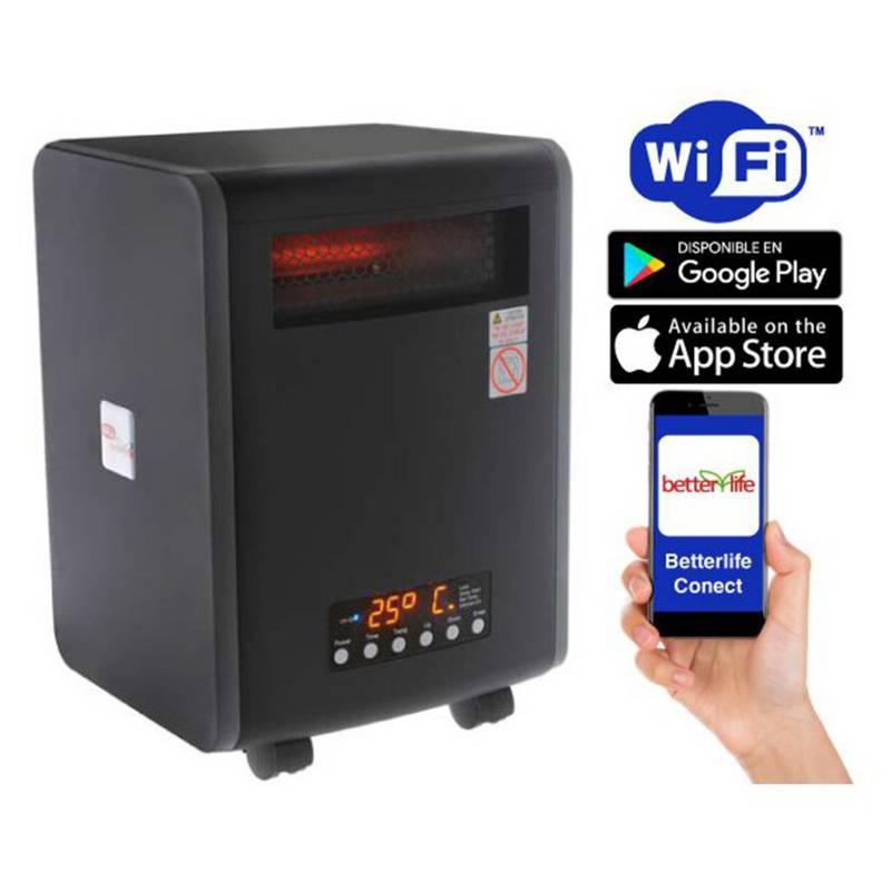 BETTERLIFE - Estufa Infrarroja UV Wi-Fi SmartHome 100 m