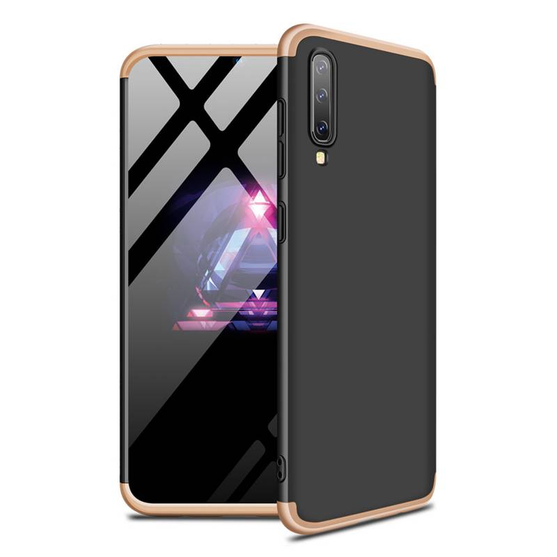 Galaxy A50 - Carcasa Funda Protectora / Dorada