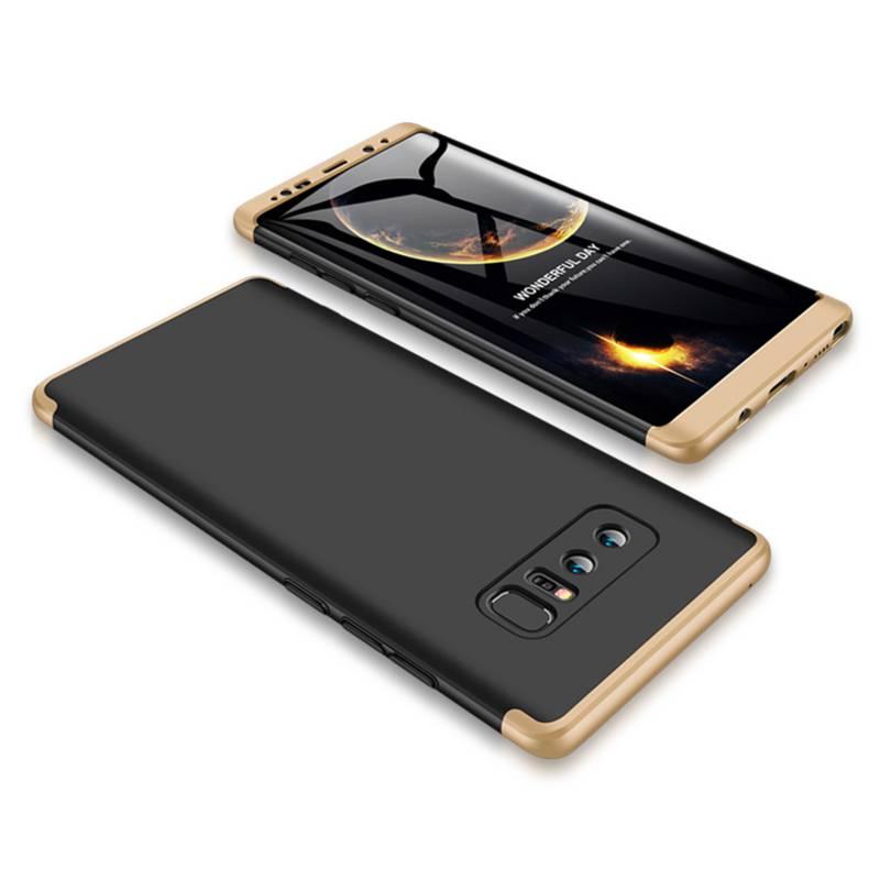 Galaxy Note 8 - Carcasa Funda Protectora / Dorada