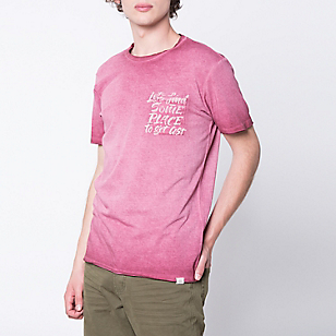 Polera Manga Corta Dirty Wash