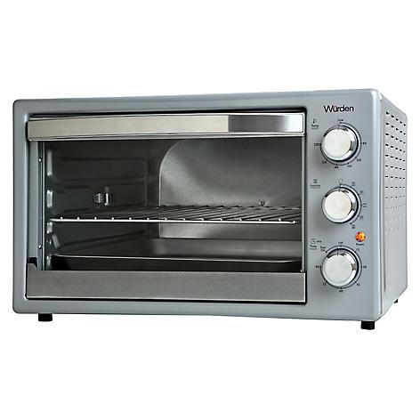 Wurden horno el ctrico 44 lt silver for Ofertas de hornos electricos