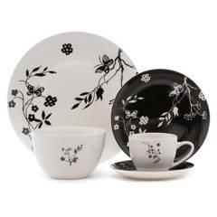 MICA - Juego de Vajilla Porcelana 30 Piezas Ana