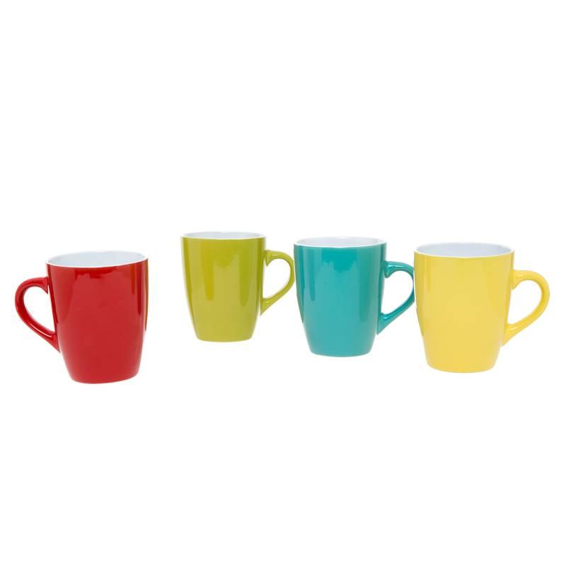 Mica - Set 4 Mugs Color