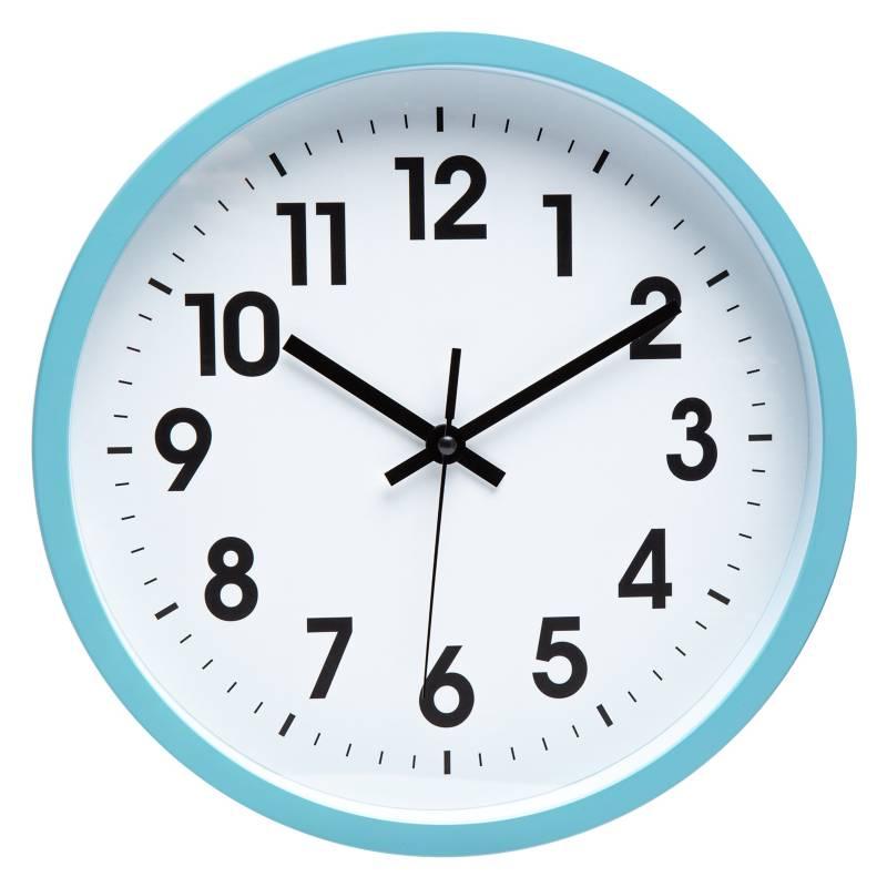 Mica - Opp Reloj Turquesa 30 cm