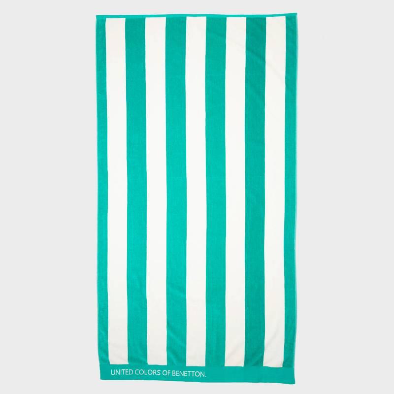 Benetton - Toalla de Playa Stripes