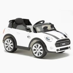 Auto a Batería Mini 6V Blanco