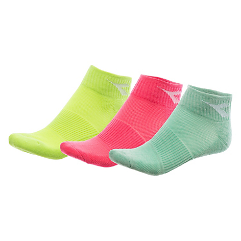 Tri Pack Calcetines Quarter Mujer