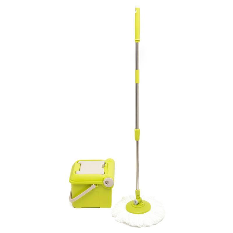 Tvalue - Sistema de Limpieza Spin Mop Verde