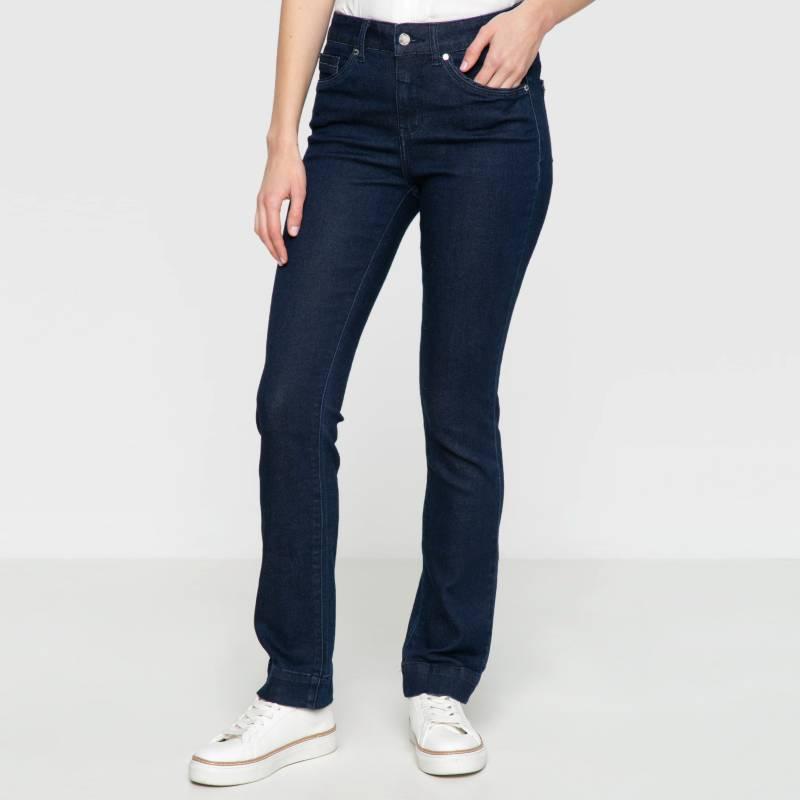 Elle - Jeans de Algodón High Waist Mujer