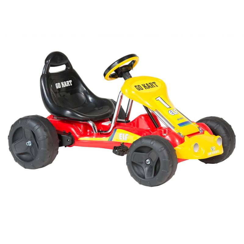 Scoop - GO KART CHILDREN ON CAR I ROJO