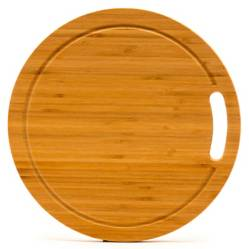 Tabla Redonda Cortar Bamboo