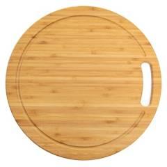 Mica - Tabla Bamboo Redonda 33 cm