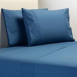 Sábana Lisa Azul 200 Hilos