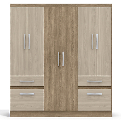 Basement home cl set isola for Closet modernos armables