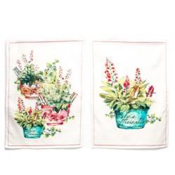 Roberta Allen - Set x 2 Paños Garden 38x64 cm