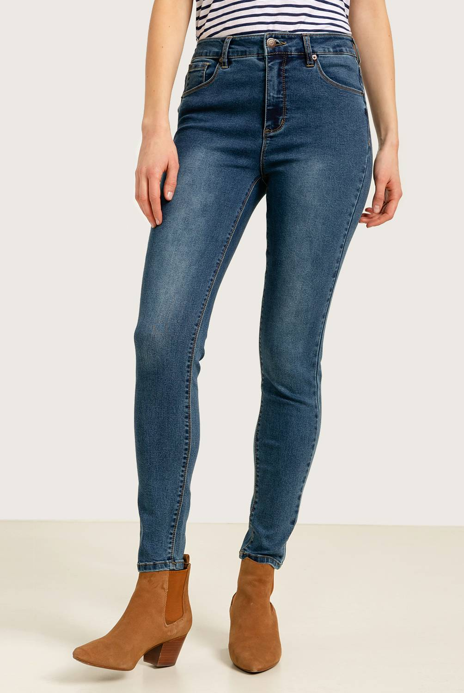 University Club - Jeans de Algodón Skinny Mujer