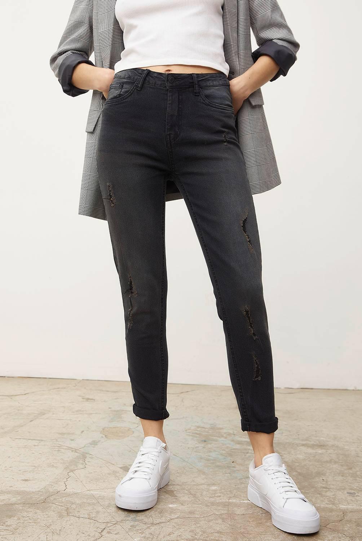 SYBILLA - Jeans Skinny Tiro Medio Mujer