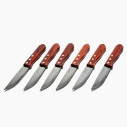 Mica - Cuchillos para Carne Jumbo Madera