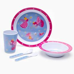 Set Melamina Kids Princesa