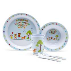 Set Melamina Kids Letras