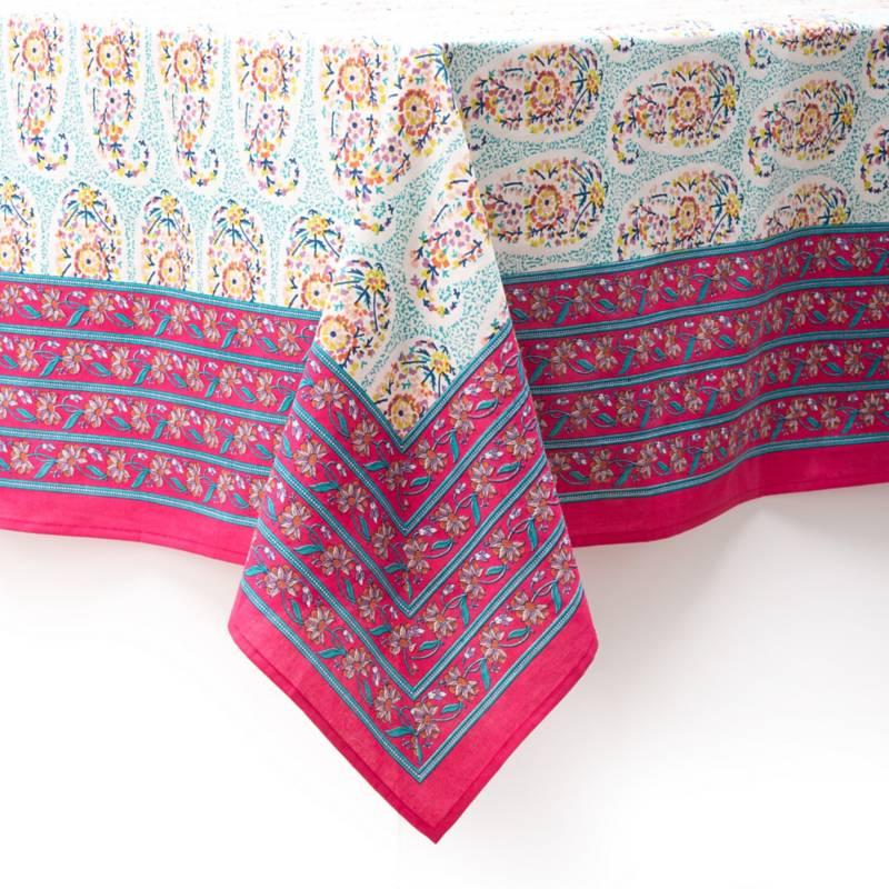 BASEMENT HOME - Mantel Estampado India 180x270 cm