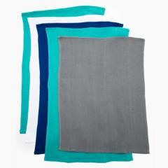 BENETTON - Set x5 Paños Colores  Liso 43x65 cm