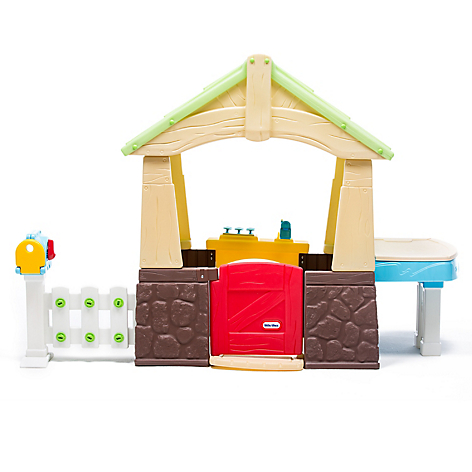 Deluxe Home Garden Playhouse