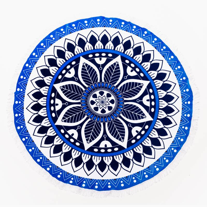 Roberta Allen - Toalla Playa Boho Azul