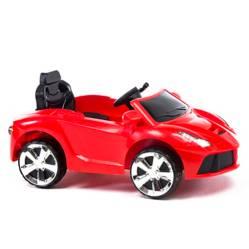 Auto a Batería 6V Rojo - Control, luz y sonido